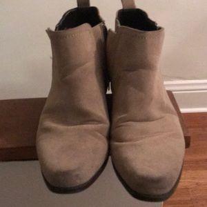ASOS Tan ZIP Up Chukka Boots